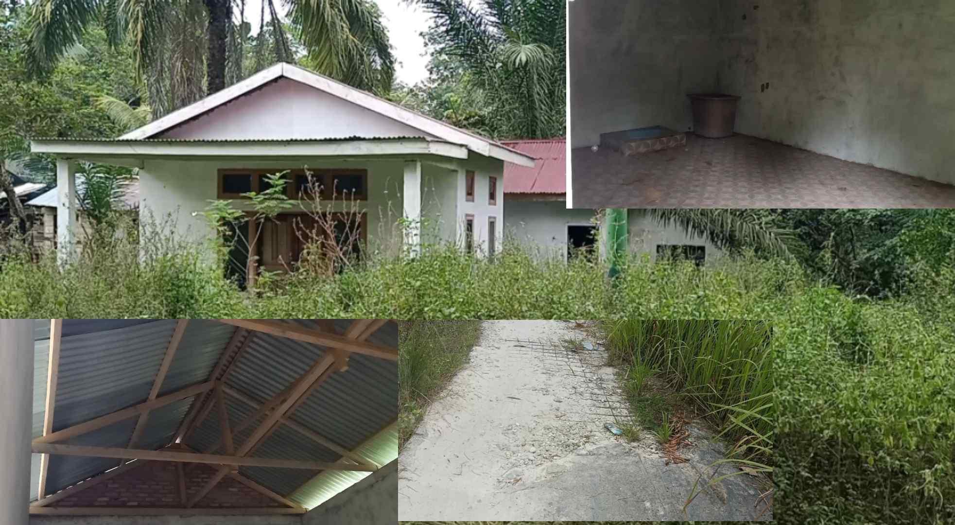 Bangunan posyandu Dusun pematang semut kepenghuluan Bangko pusaka
